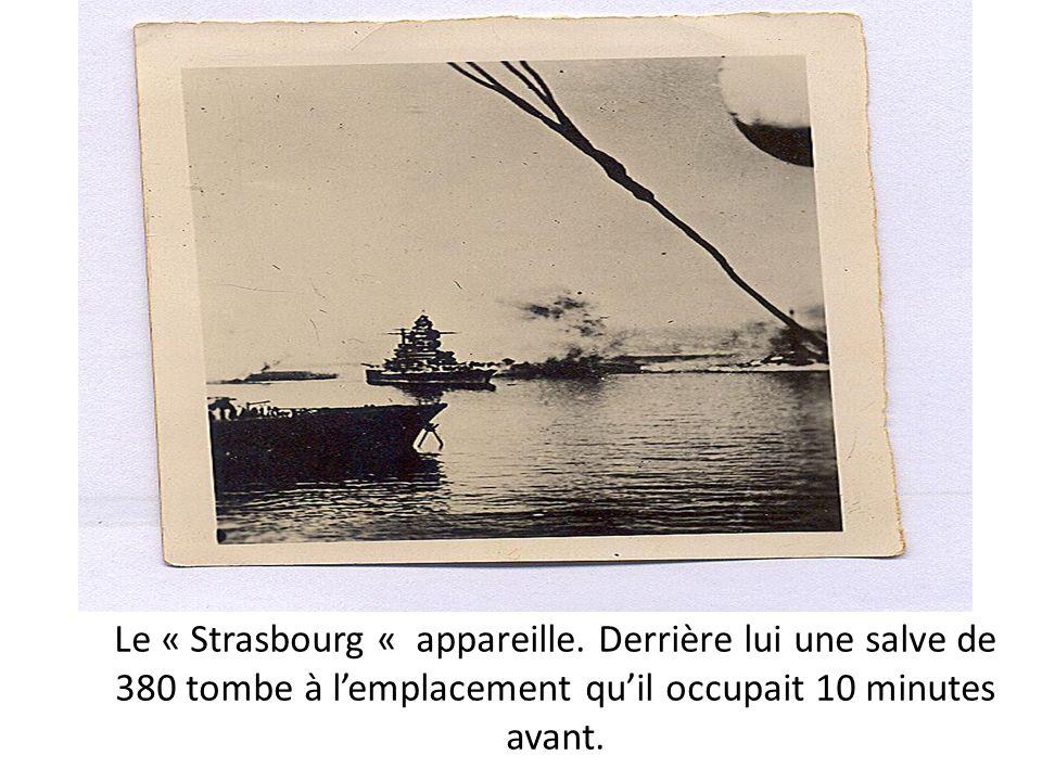 Le « Strasbourg « appareille