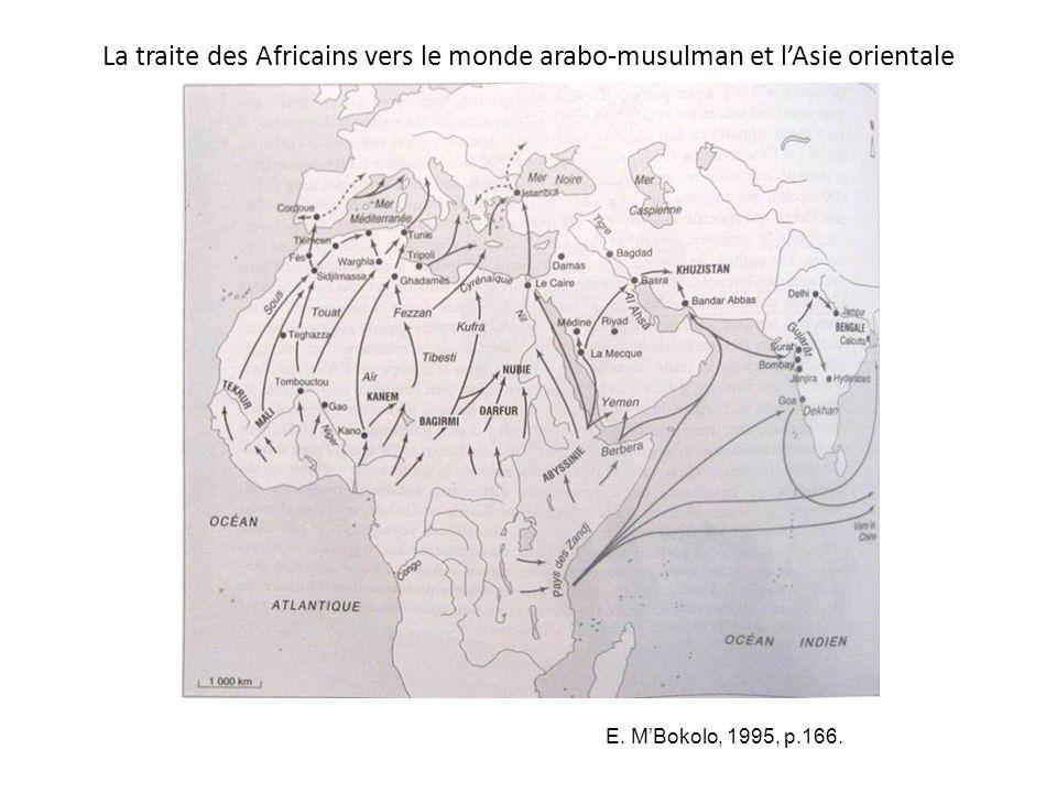 La traite des Africains vers le monde arabo-musulman et l'Asie orientale