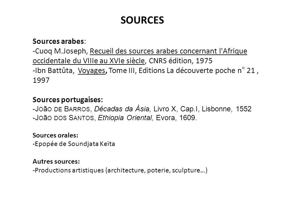 SOURCES Sources arabes:
