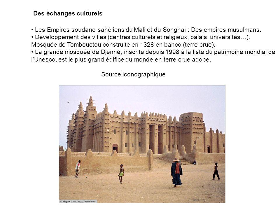 Des échanges culturels