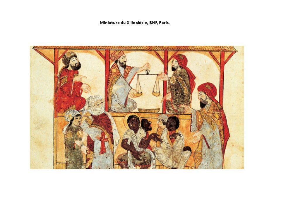 Miniature du XIIIe siècle, BNF, Paris.