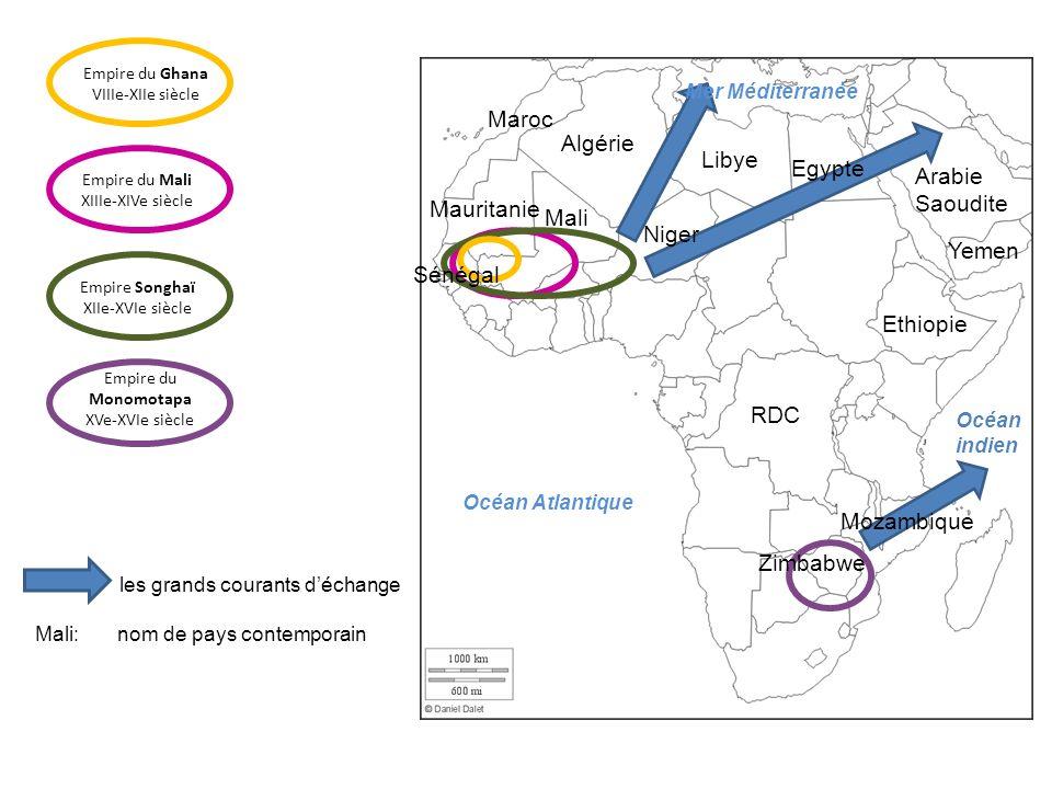 L'empire du Mali s'étendait de l'Atlantique à la boucle du Niger