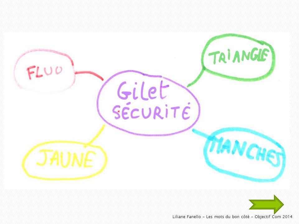 Liliane Fanello - Les mots du bon côté - Objectif Com 2014