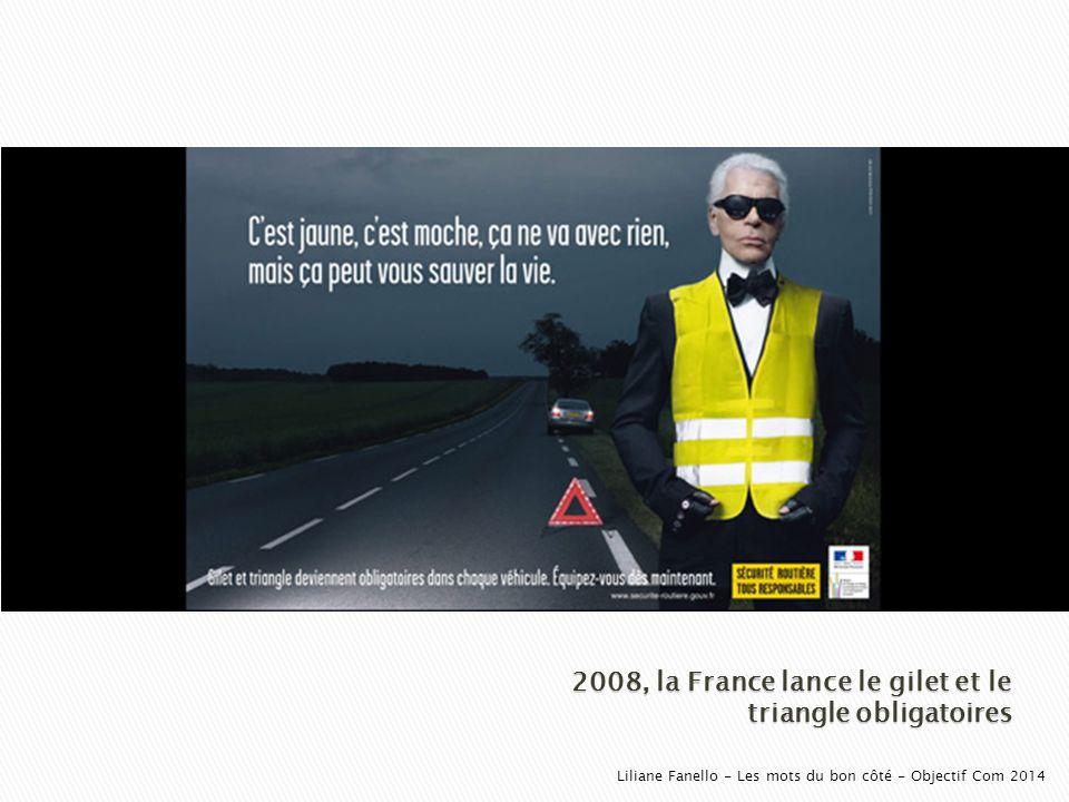 2008, la France lance le gilet et le triangle obligatoires
