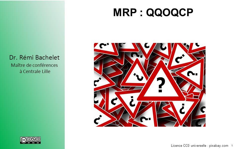 MRP : QQOQCP Tendance à sauter Jump aux conclusions conclusions hâtives