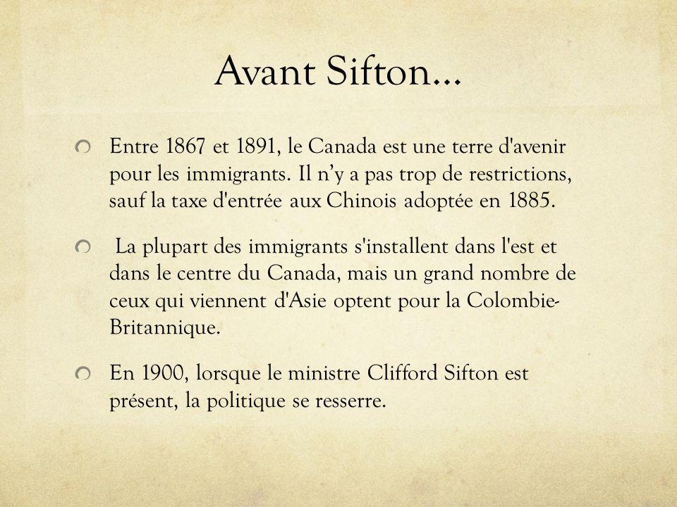 Avant Sifton…