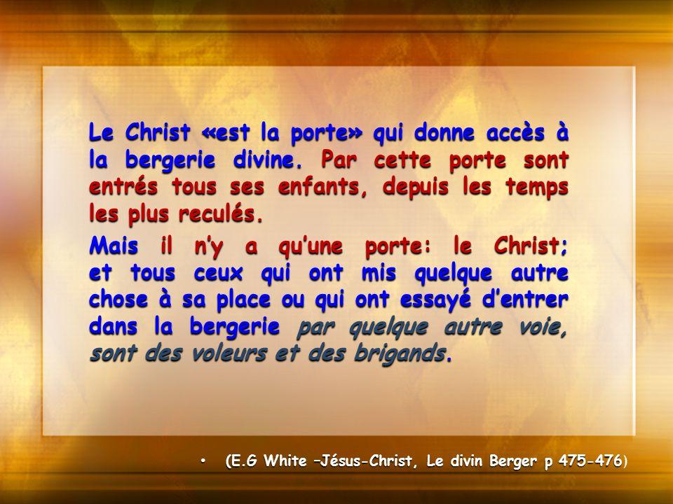 Le Christ «est la porte» qui donne accès à la bergerie divine
