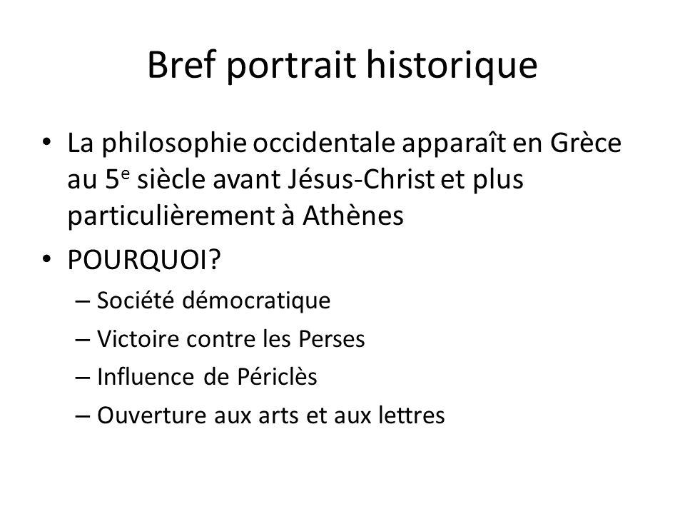 Bref portrait historique