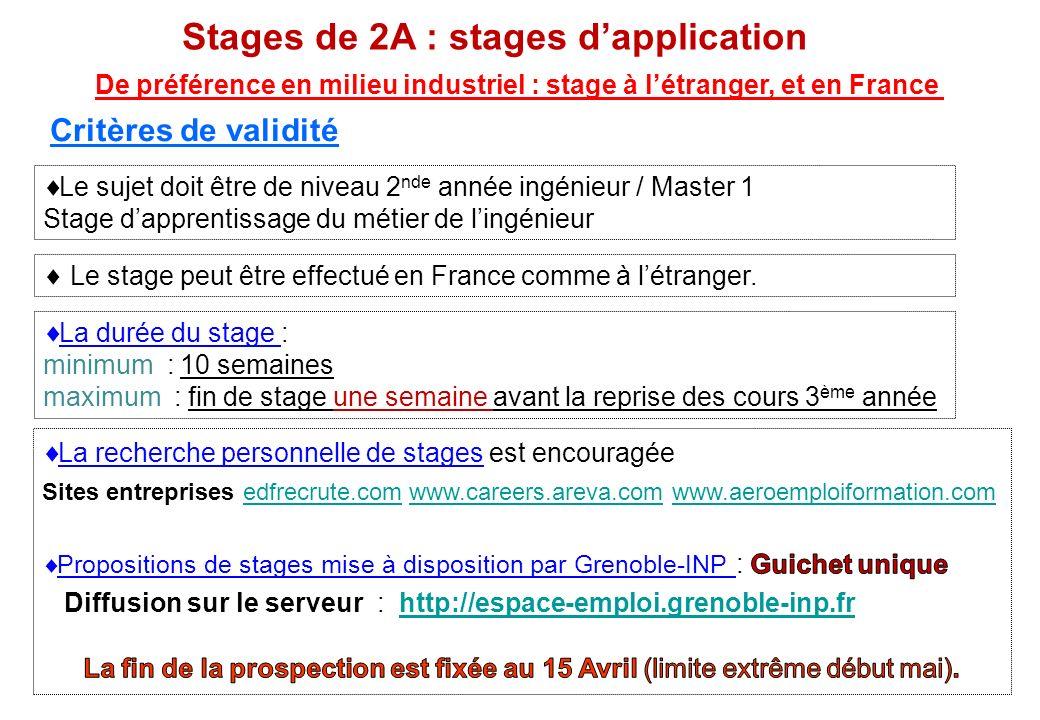 De préférence en milieu industriel : stage à l'étranger, et en France