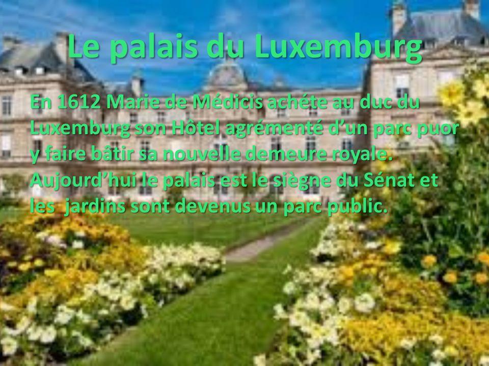 Le palais du Luxemburg