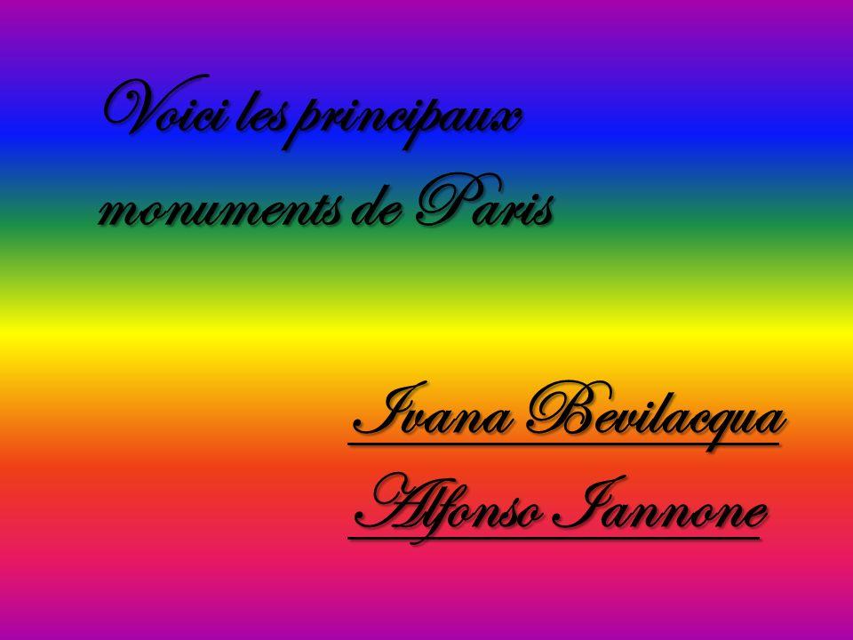 Voici les principaux monuments de Paris