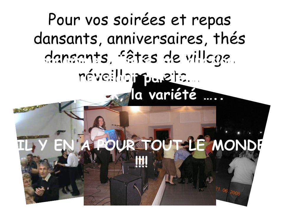 IL Y EN A POUR TOUT LE MONDE !!!!