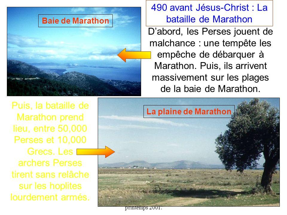 490 avant Jésus-Christ : La bataille de Marathon