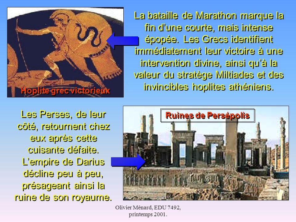 Hoplite grec victorieux