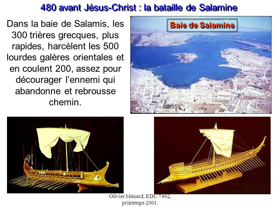480 avant Jésus-Christ : la bataille de Salamine