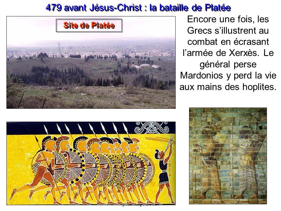 479 avant Jésus-Christ : la bataille de Platée