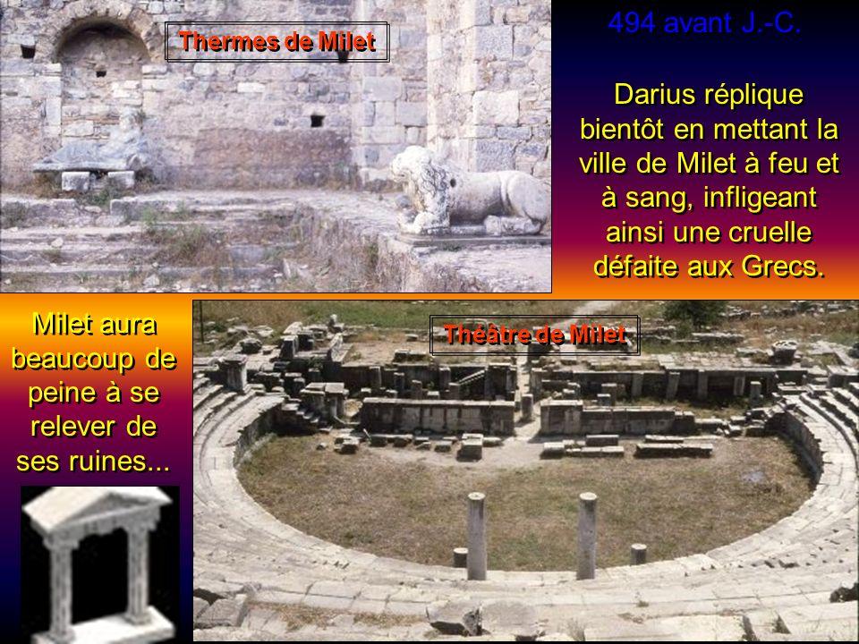 Milet aura beaucoup de peine à se relever de ses ruines...