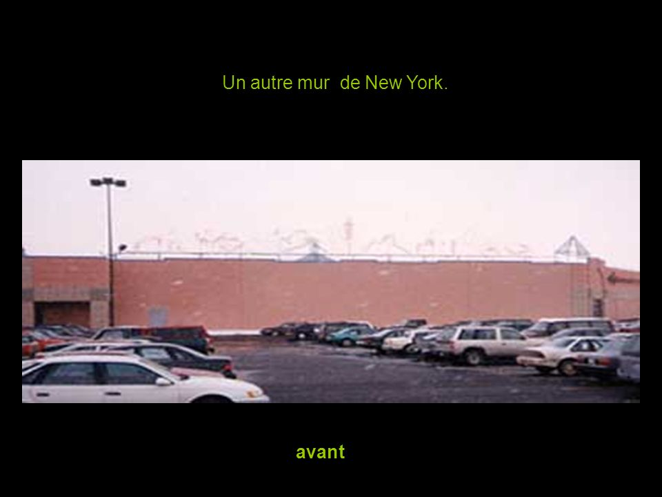 Un autre mur de New York. avant
