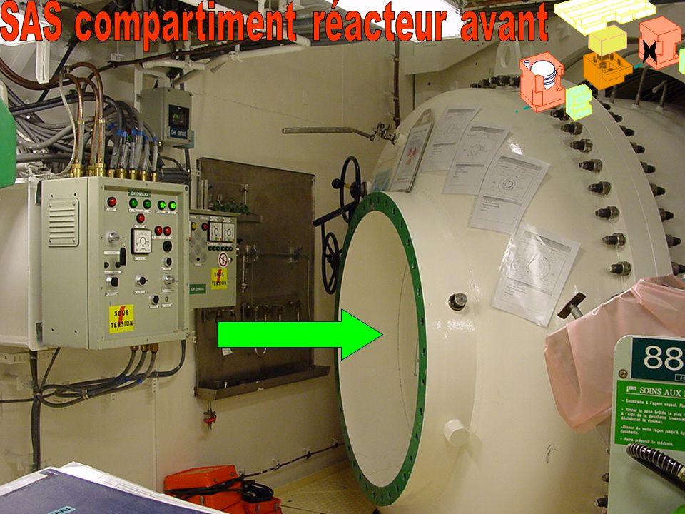 SAS compartiment réacteur avant