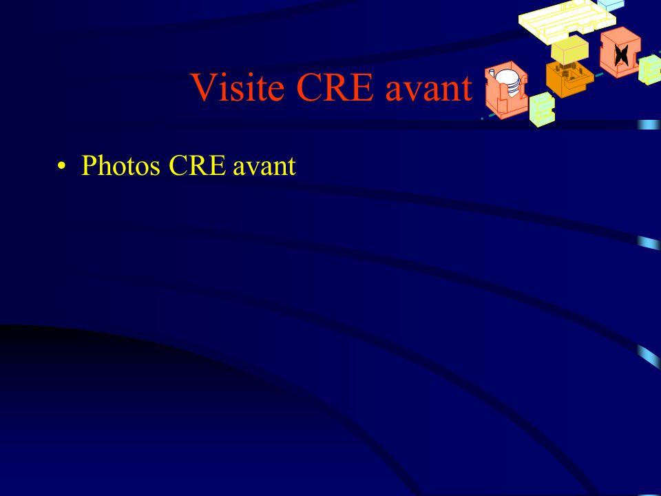 Visite CRE avant x Photos CRE avant