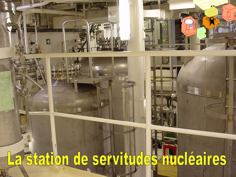 La station de servitudes nucléaires