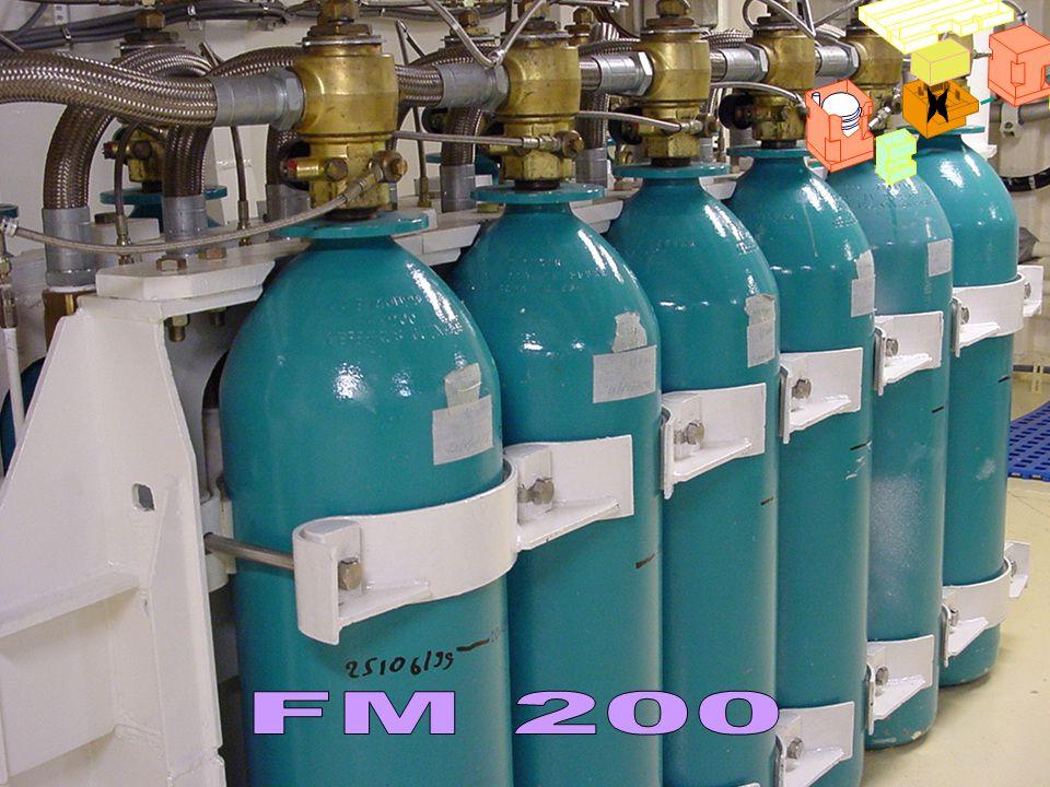FM200 x. Cette zone sert aussi au stockage des gaz nécessaires à l'exploitation des chaufferies :