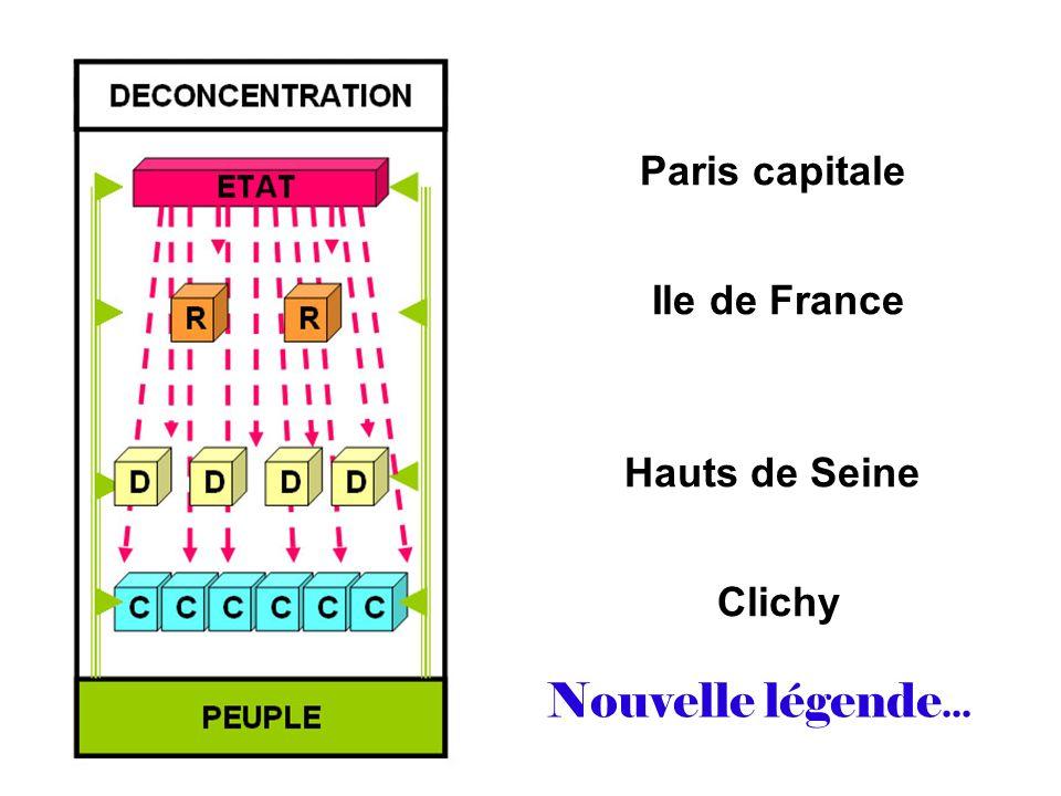 Paris capitale Ile de France Hauts de Seine Clichy Nouvelle légende...