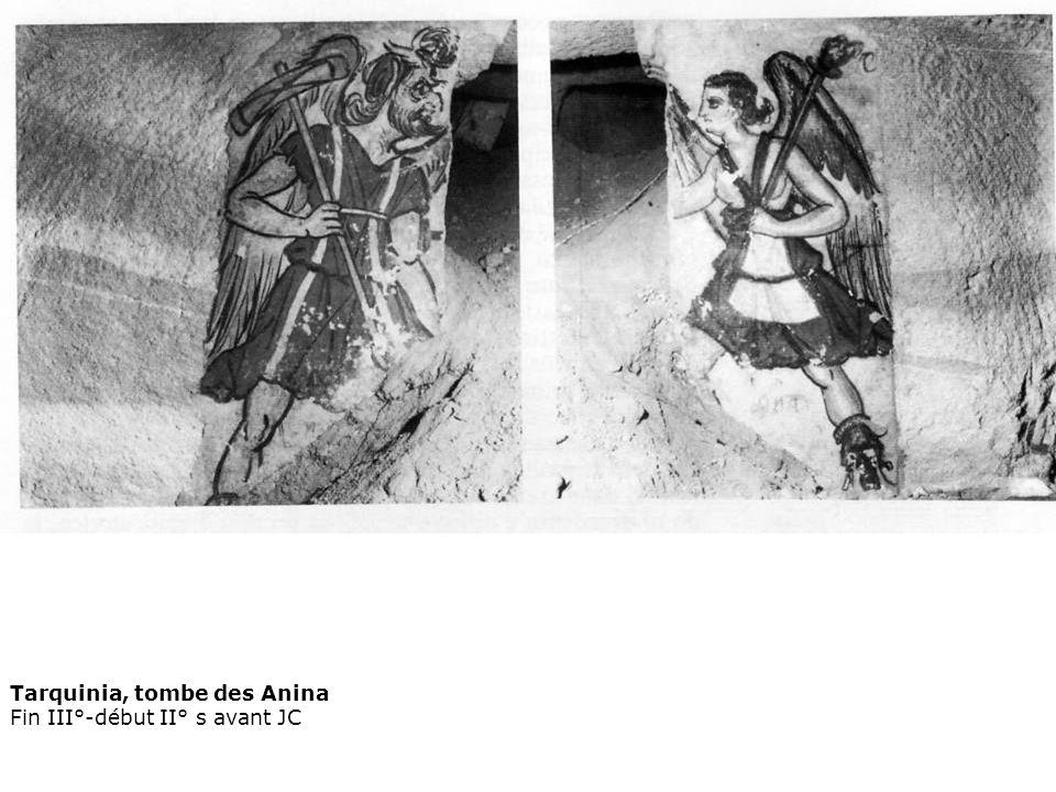Tarquinia, tombe des Anina