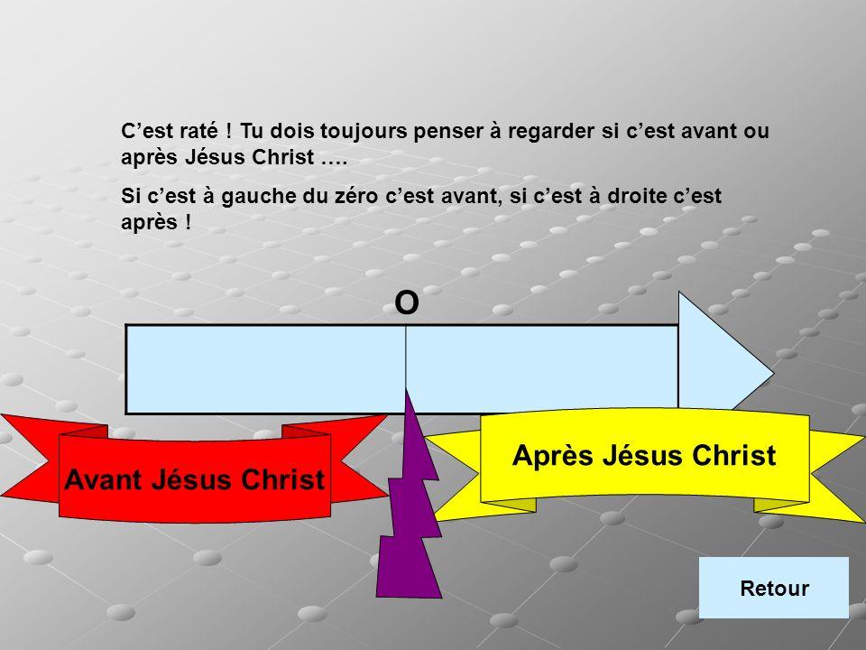 O Après Jésus Christ Avant Jésus Christ