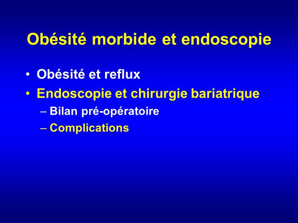 Obésité morbide et endoscopie