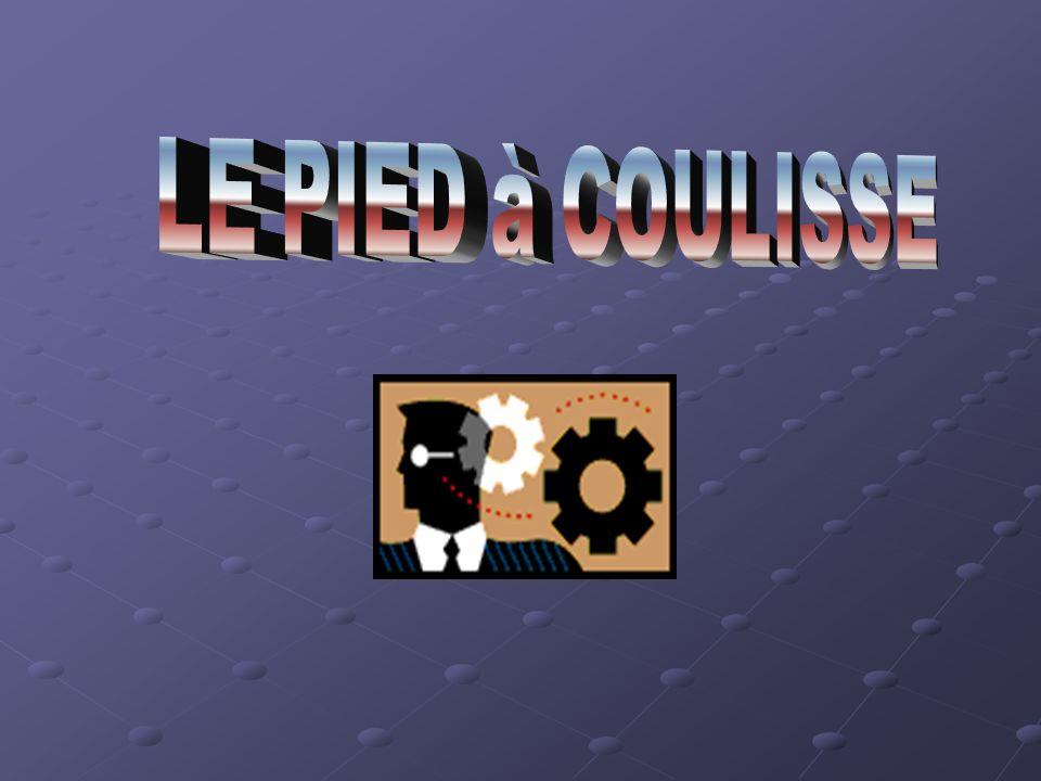 LE PIED à COULISSE