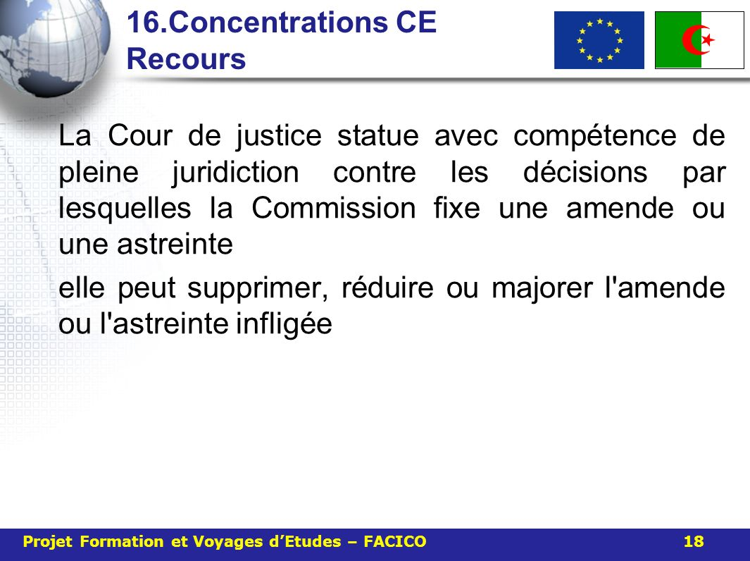 16.Concentrations CE Recours