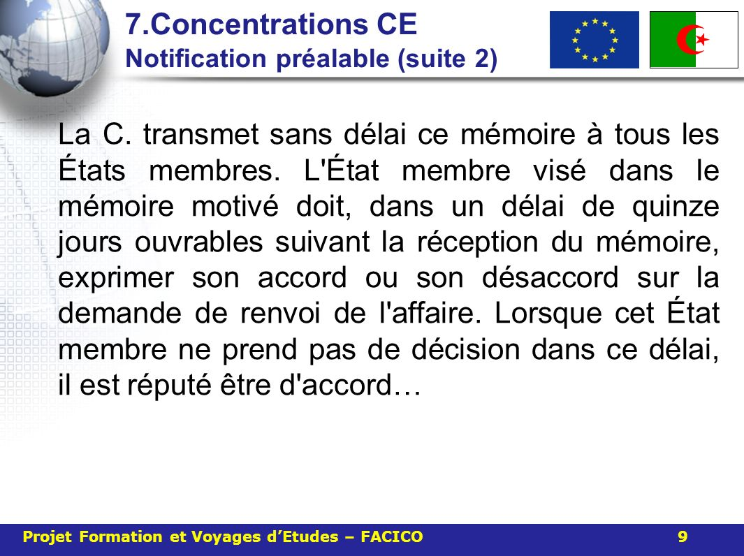 7.Concentrations CE Notification préalable (suite 2)