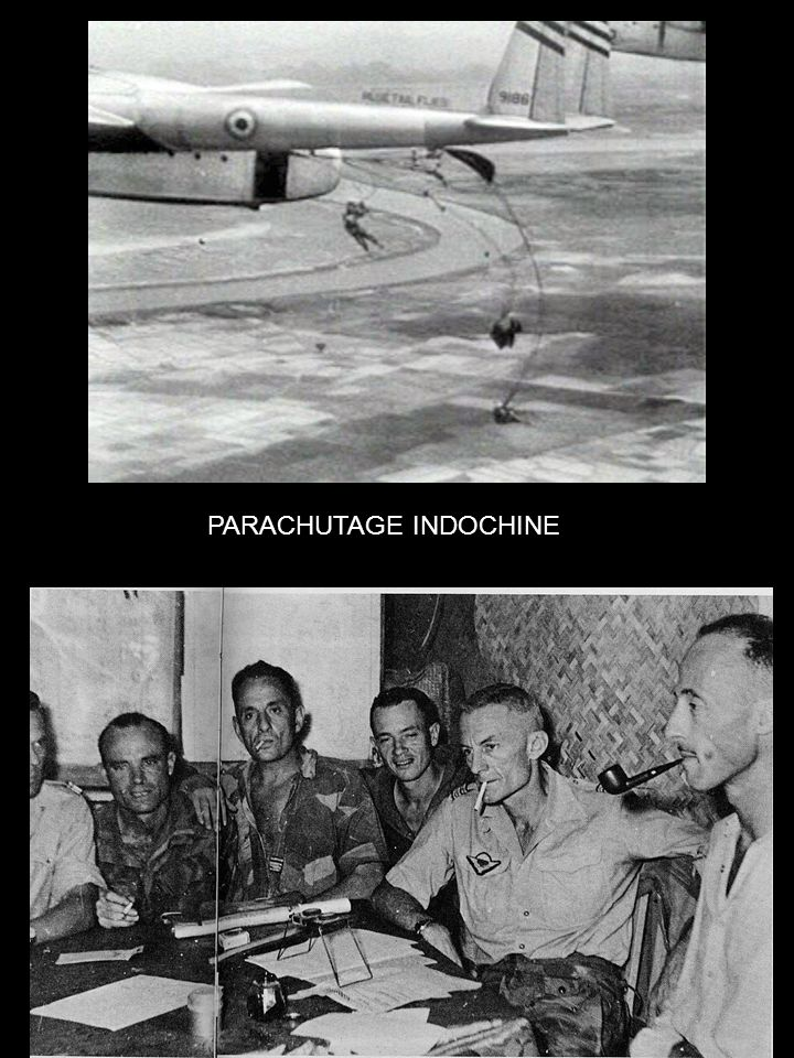 PARACHUTAGE INDOCHINE