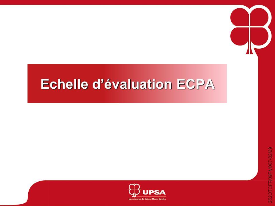 Echelle d'évaluation ECPA