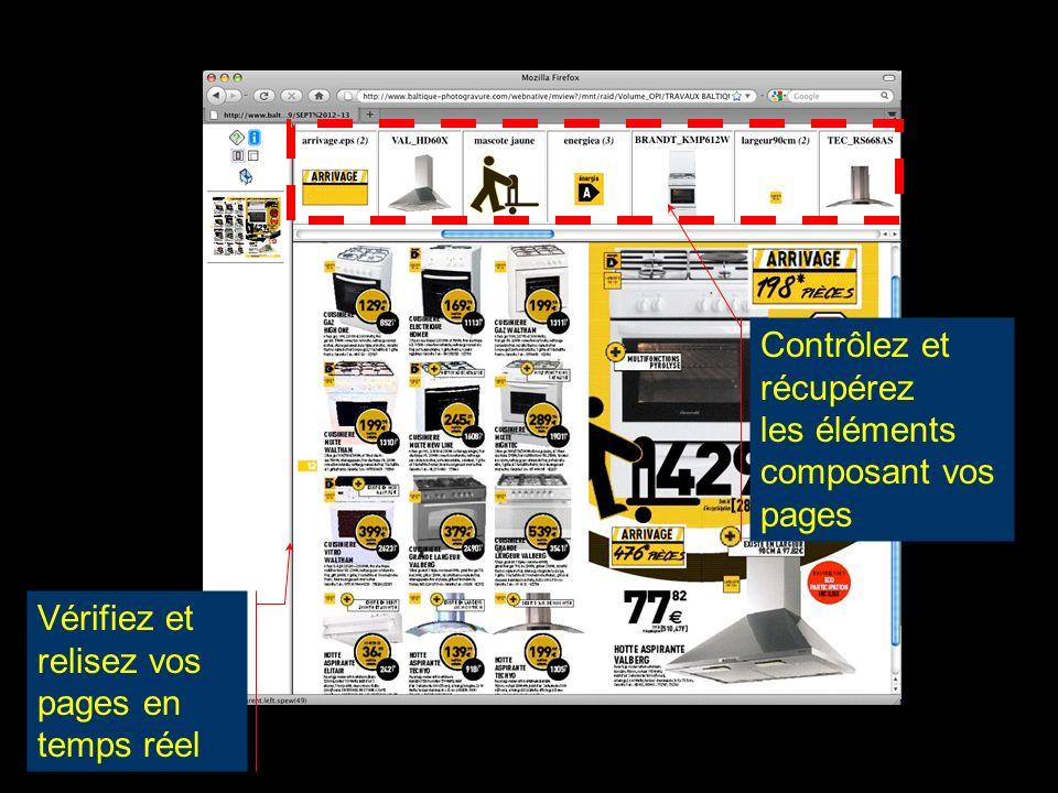 Contrôlez et récupérez les éléments composant vos pages