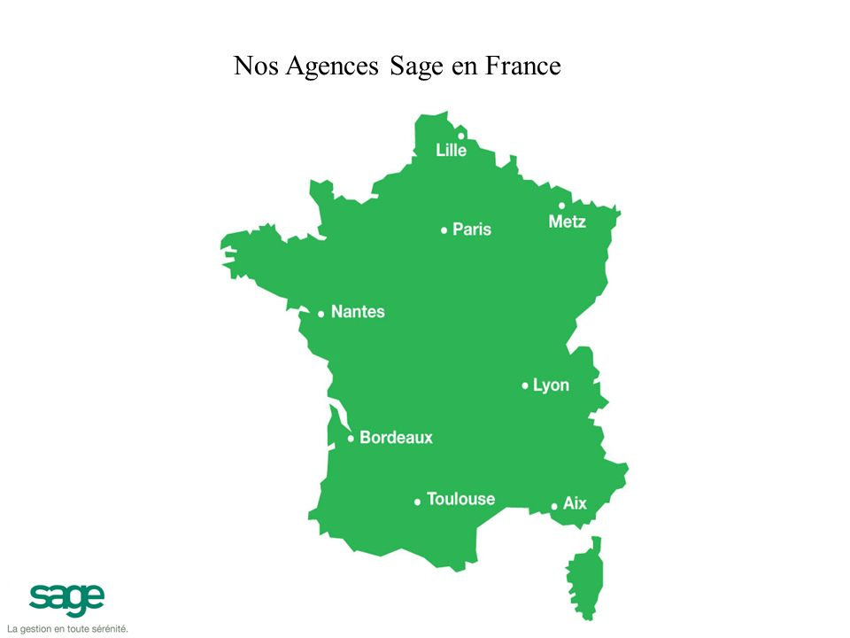 Nos Agences Sage en France