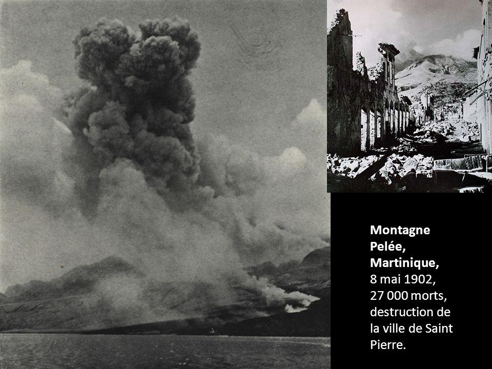 Montagne Pelée, Martinique,