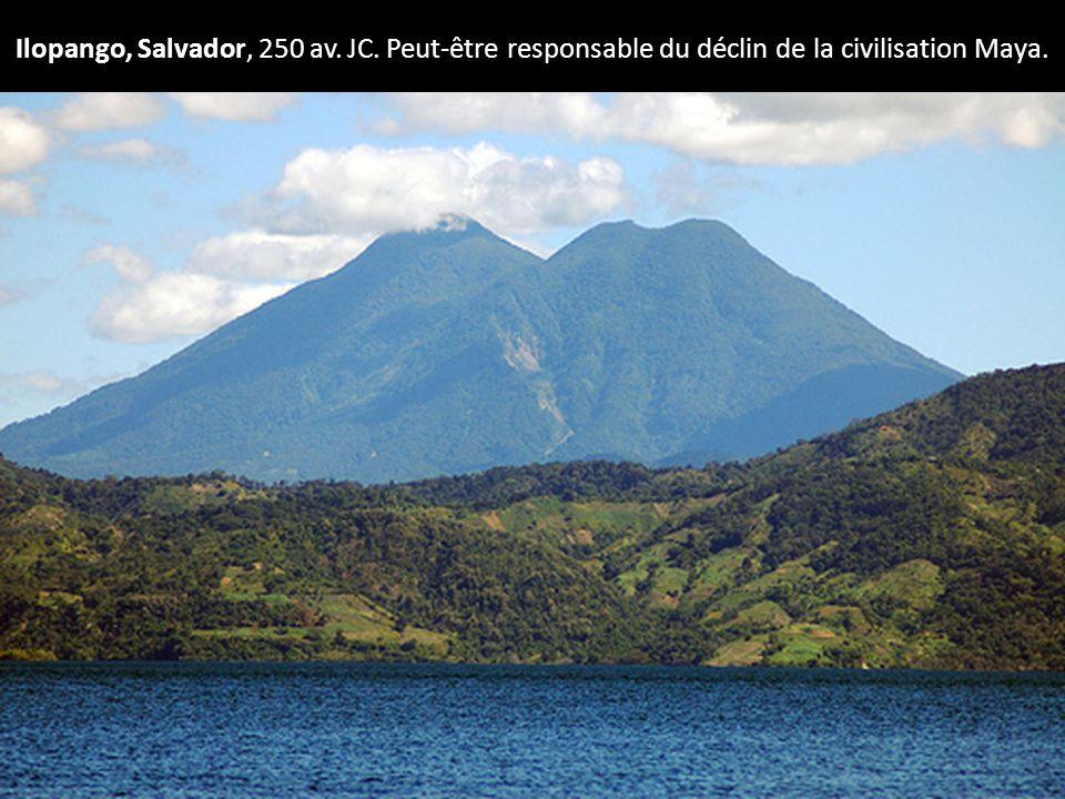 Ilopango, Salvador, 250 av. JC