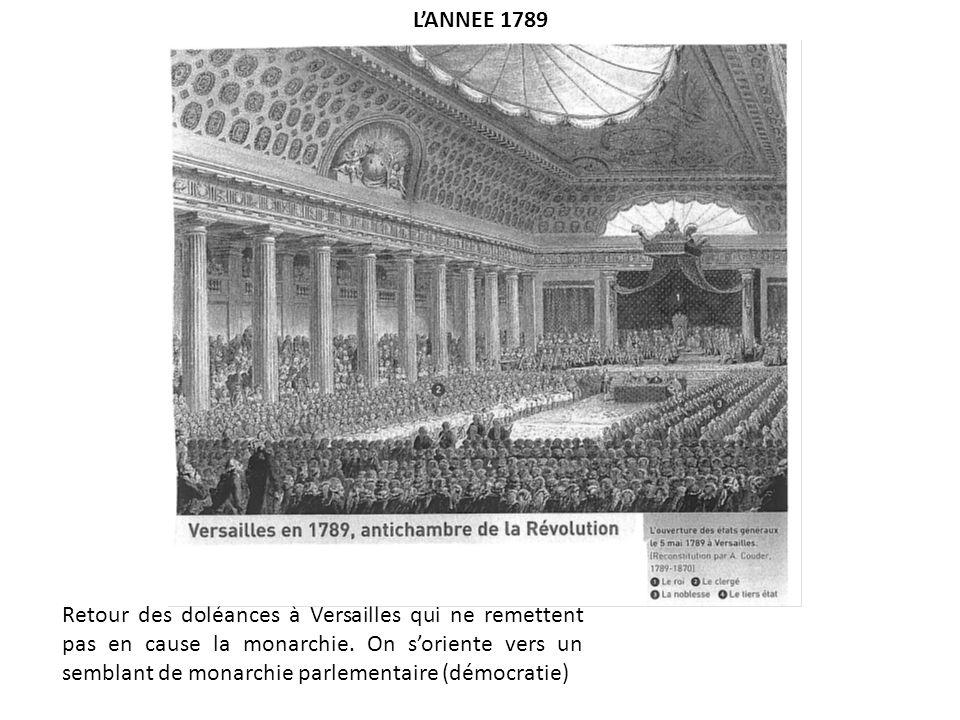 L'ANNEE 1789