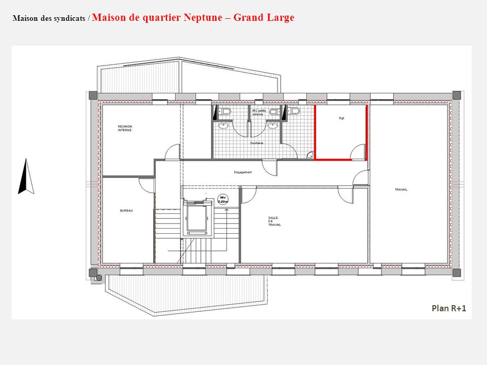 Maison des syndicats / Maison de quartier Neptune – Grand Large