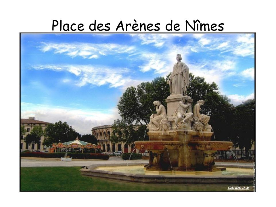 Place des Arènes de Nîmes