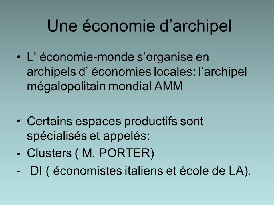 Une économie d'archipel