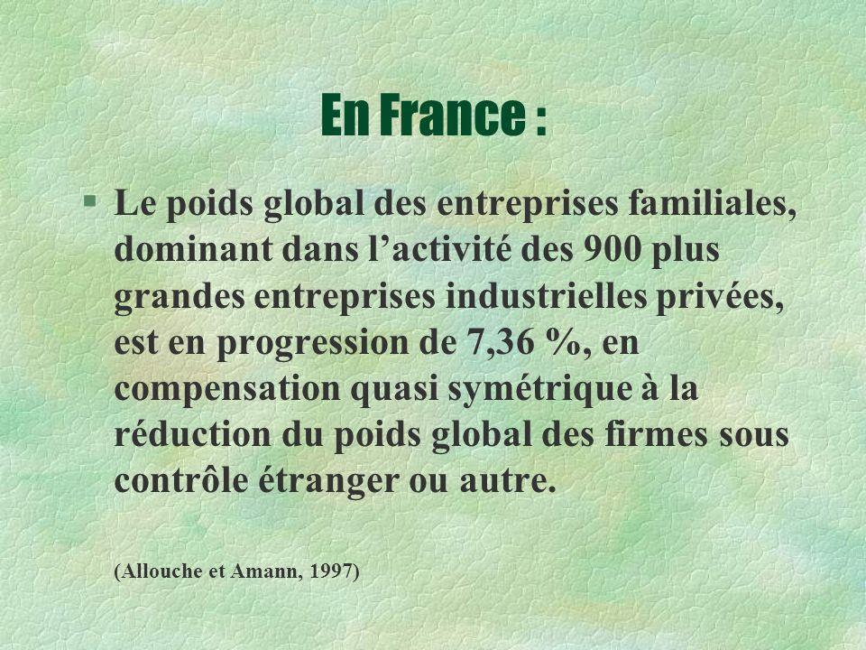 En France :
