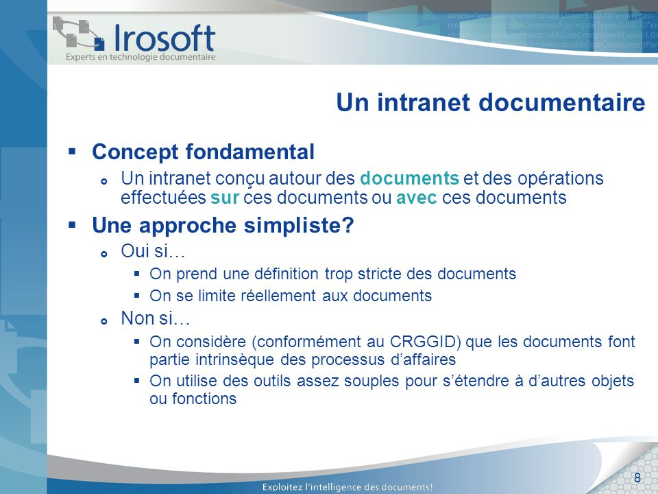 Un intranet documentaire