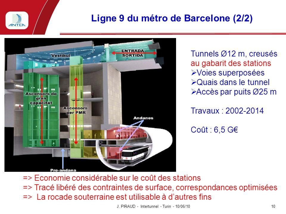 Ligne 9 du métro de Barcelone (2/2)