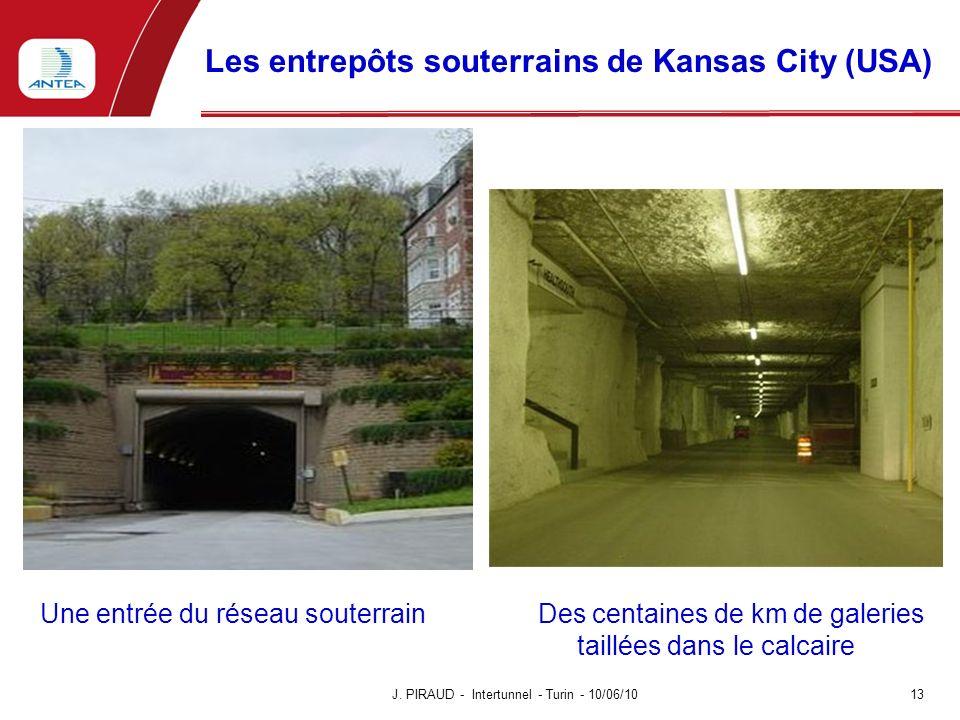 Les entrepôts souterrains de Kansas City (USA)