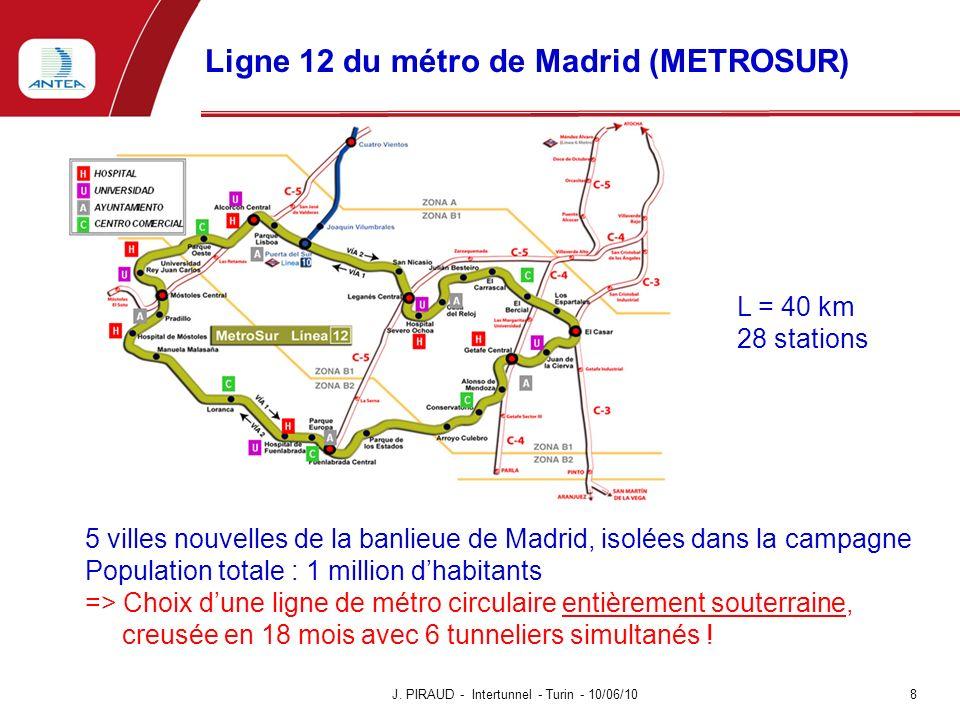 Ligne 12 du métro de Madrid (METROSUR)