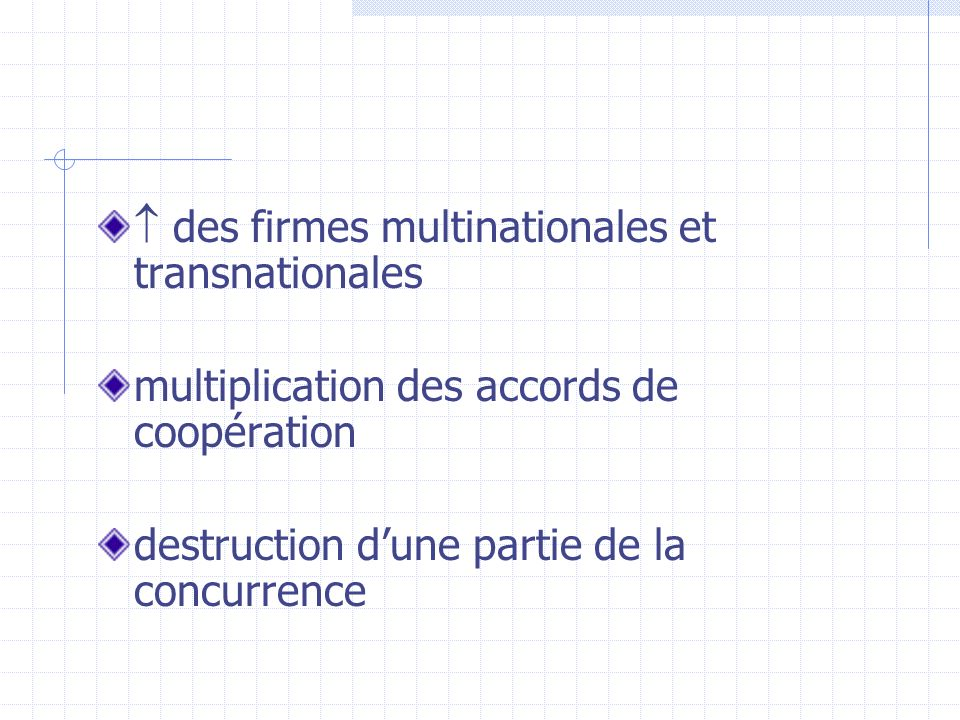  des firmes multinationales et transnationales