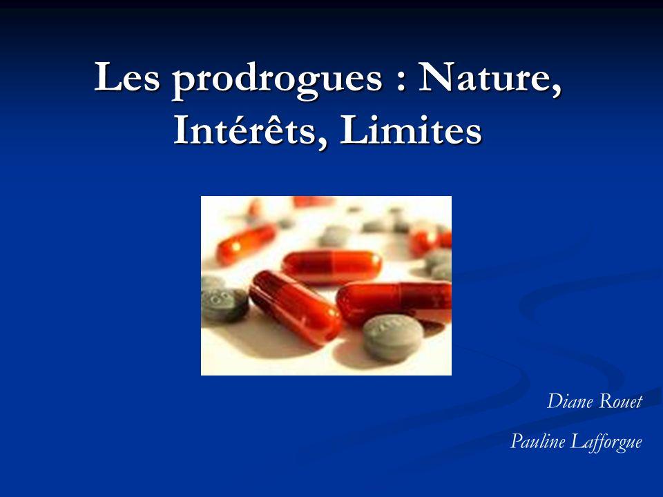 Les prodrogues : Nature, Intérêts, Limites